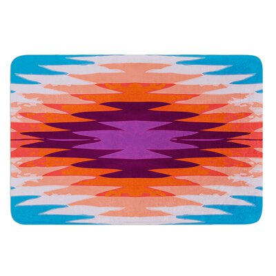 Surf Lovin Hawaii by Nika Martinez Bath Mat