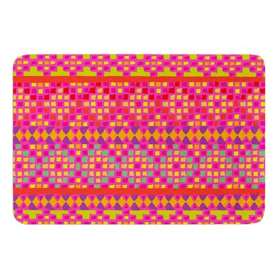 Mexicalli by Nika Martinez Bath Mat