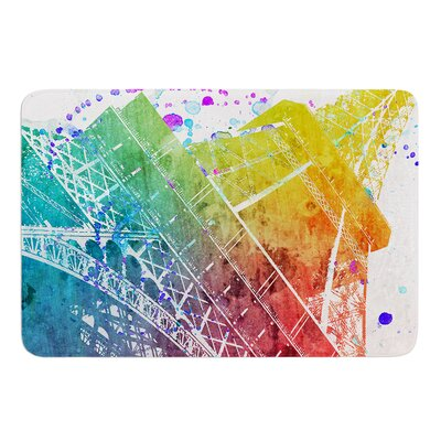 Paris Je Taime by Nika Martinez Bath Mat