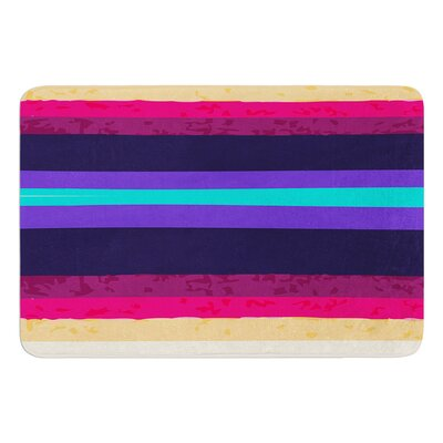 Surf Stripes by Nika Martinez Bath Mat