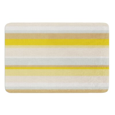Desert Stripes by Nika Martinez Bath Mat