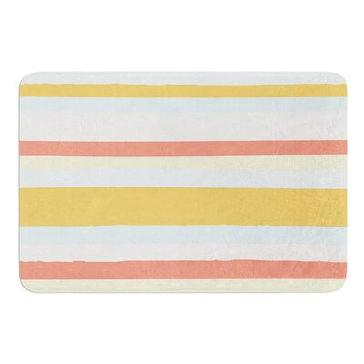 Sand Stripes by Nika Martinez Bath Mat