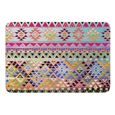 Tribal Native by Nika Martinez Bath Mat