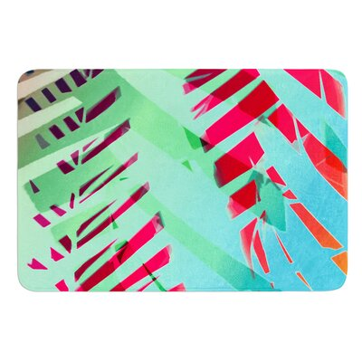 Cool Tropical by Alison Coxon Bath Mat Size: 17W x 24L