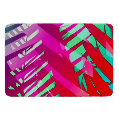Hot Tropical by Alison Coxon Bath Mat Size: 17W x 24L