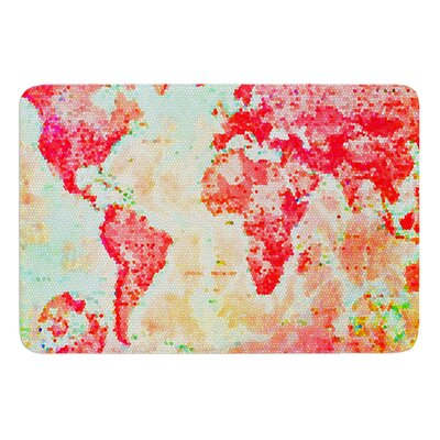 Oh The Places Well Go by Alison Coxon Bath Mat Size: 24 W x 36 L