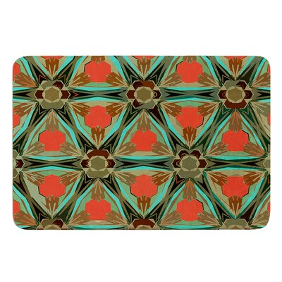 Moorish Earth by Alison Coxon Bath Mat Size: 17W x 24L
