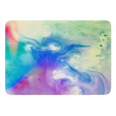 Rainbow Flow by Alison Coxon Bath Mat