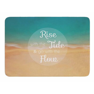 Rise With The Tide by Alison Coxon Bath Mat