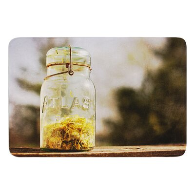 Jar of Sunshine by Angie Turner Bath Mat Size: 17W x 24L
