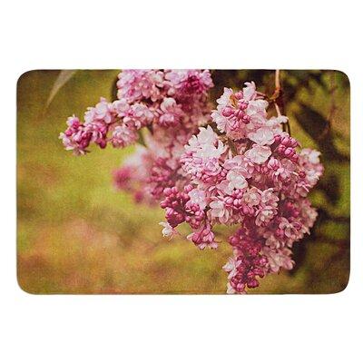 Lilacs by Angie Turner Bath Mat Size: 24 W x 36 L