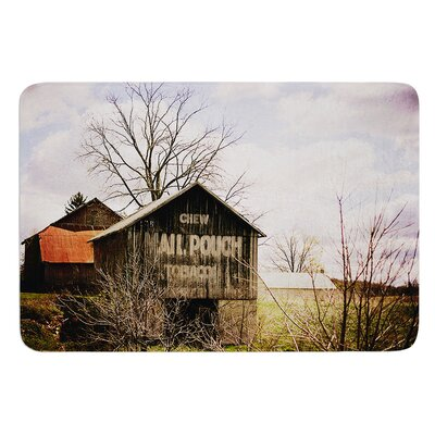 Mail Pouch Barn by Angie Turner Bath Mat Size: 17W x 24L