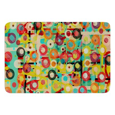 Gift Wrapped by Bri Buckley Bath Mat Size: 24 W x 36 L