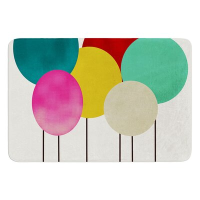 Celebration by Bri Buckley Bath Mat Size: 17W x 24L