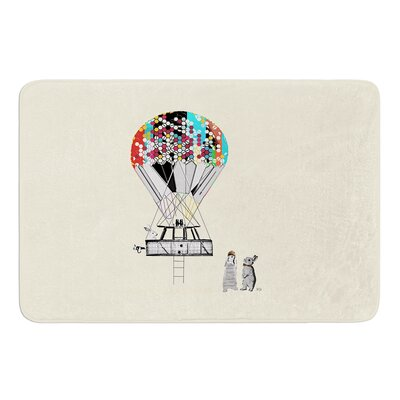 Adventure Days by Bri Buckley Bath Mat Size: 17W x 24L