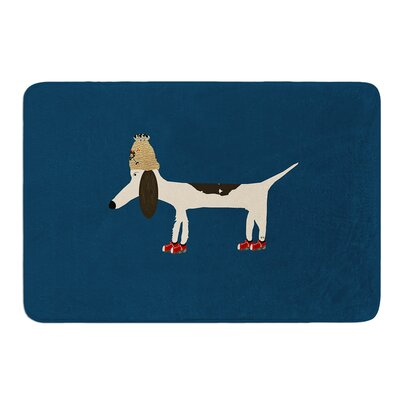 Chien by Bri Buckley Bath Mat Size: 17W x 24L