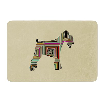 Schuavzer by Bri Buckley Bath Mat Size: 17W x 24L