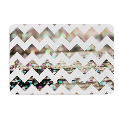 After Party Chevron by Beth Engel Bath Mat Size: 24 W x 36 L