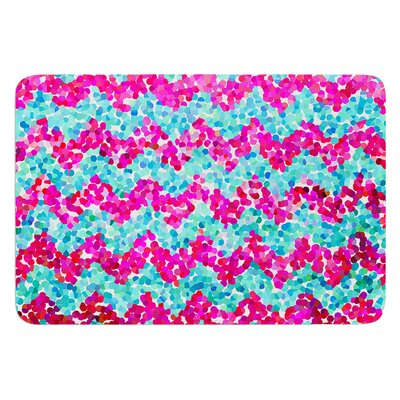 Scattered by Beth Engel Bath Mat Size: 17W x 24L