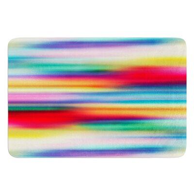 Blurry Cool by Danny Ivan Bath Mat Size: 17W x 24L