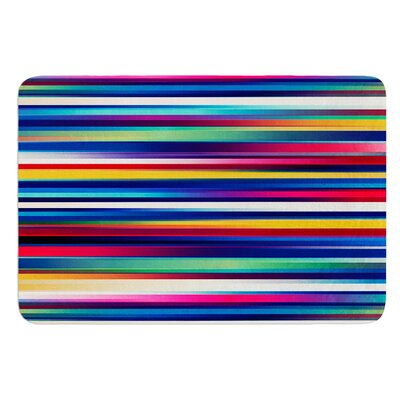 Blurry Lines by Danny Ivan Bath Mat Size: 24