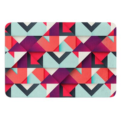 Shapes by Danny Ivan Bath Mat Size: 24