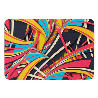 Slippery Slope by Danny Ivan Bath Mat Size: 17W x 24L