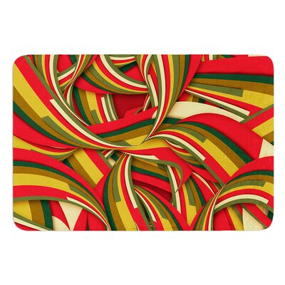 Excited Christmas by Danny Ivan Bath Mat Size: 24 W x 36 L