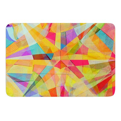 Star by Danny Ivan Bath Mat Size: 17W x 24L