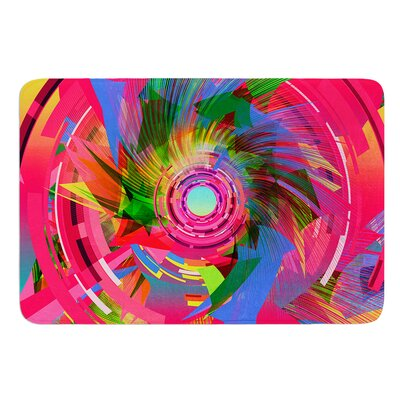 Fun Hole by Danny Ivan Bath Mat Size: 17W x 24L