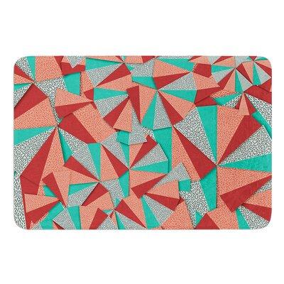Marsala Pattern by Danny Ivan Bath Mat Size: 24 W x 36 L