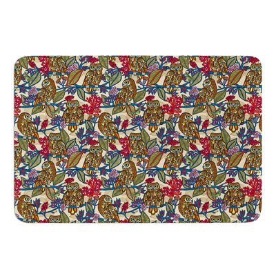 My Boobooks Owls by Julia Grifol Bath Mat Size: 24 W x 36 L