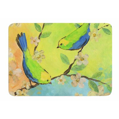 Song Birds by Jacqueline Milton Bath Mat