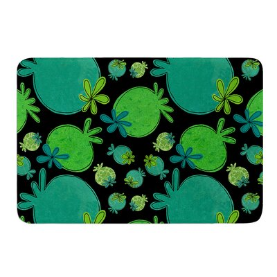 Garden Pods by Jane Smith Bath Mat Size: 24 W x 36 L