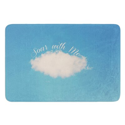 Soar With Me by Beth Engel Bath Mat Size: 24 W x 36 L