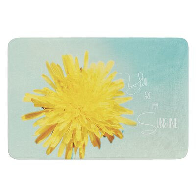 You Are My Sunshine by Beth Engel Bath Mat Size: 24 W x 36 L