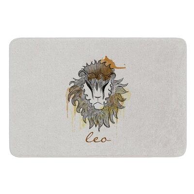 Leo by Belinda Gillies Bath Mat Size: 24 W x 36 L