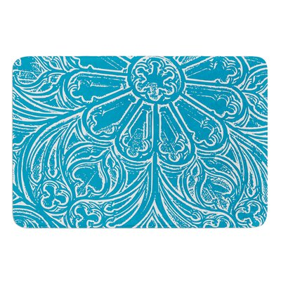 Pitter Pattern by Belinda Gillies Bath Mat