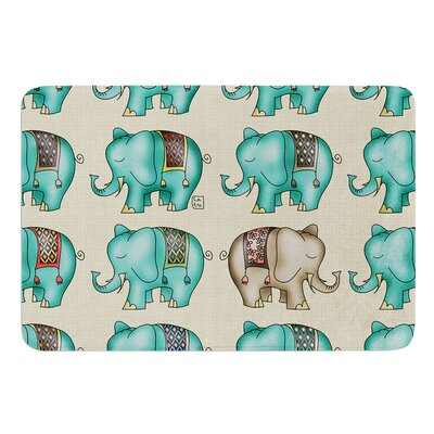 Dreamy Ellie by Carina Povarchik Bath Mat Size: 24 W x 36 L