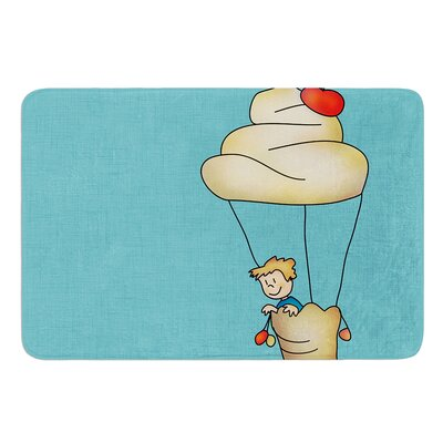 Sweet World by Carina Povarchik Bath Mat Size: 17