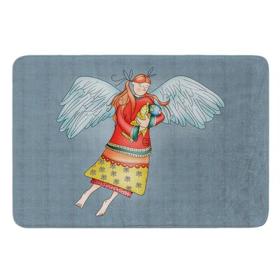 Guardian Angel by Carina Povarchik Bath Mat Size: 17W x 24 L