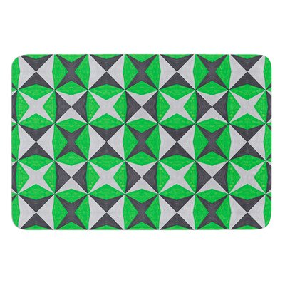 Abstract by Empire Ruhl Bath Mat Size: 17W x 24 L