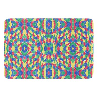 Energy Abstract by Empire Ruhl Bath Matt Size: 17W x 24 L