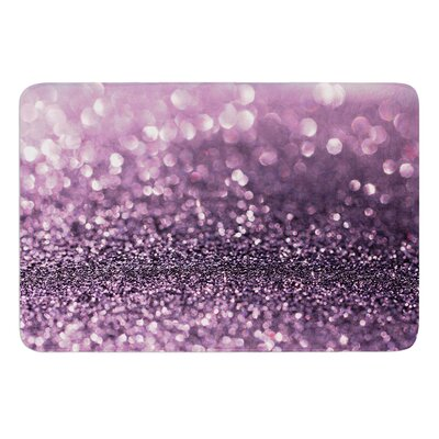 Sparkle by Debbra Obertanec Bath Mat Size: 17W x 24L
