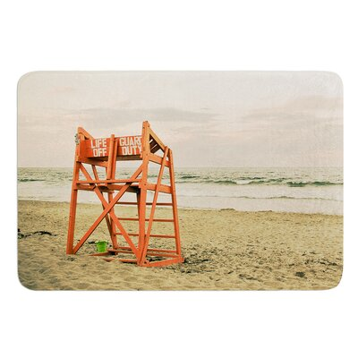Dusk At the Beach by Debbra Obertanec Bath Mat Size: 24 W x 36 L