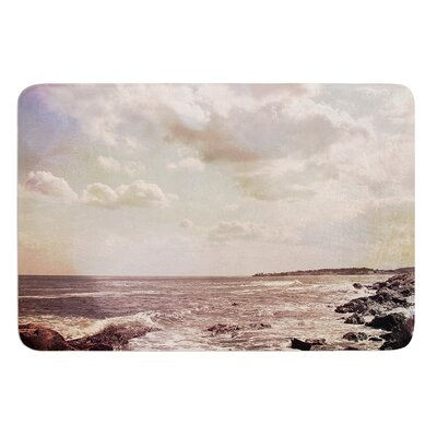 Rocky Coast by Debbra Obertanec Bath Mat Size: 24 W x 36 L