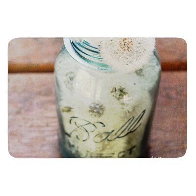 Jar of Wishes by Debbra Obertanec Bath Mat Size: 17W x 24L