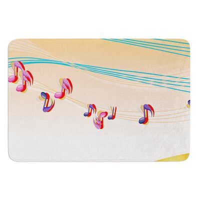 Nature Music by Fotios Pavlopoulos Bath Mat Size: 17W x 24L