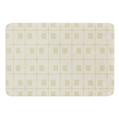 Squares in Square by Fotios Pavlopoulos Bath Mat Size: 24 W x 36 L