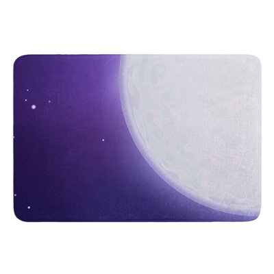 Full Moon by Fotios Pavlopoulos Bath Mat Size: 17W x 24L